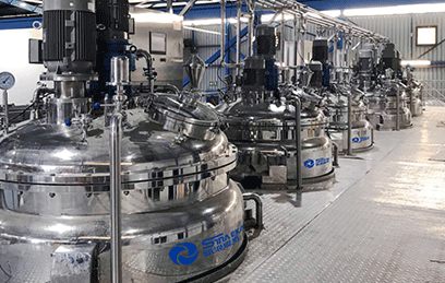 Cream & Paste Production Line Solution
