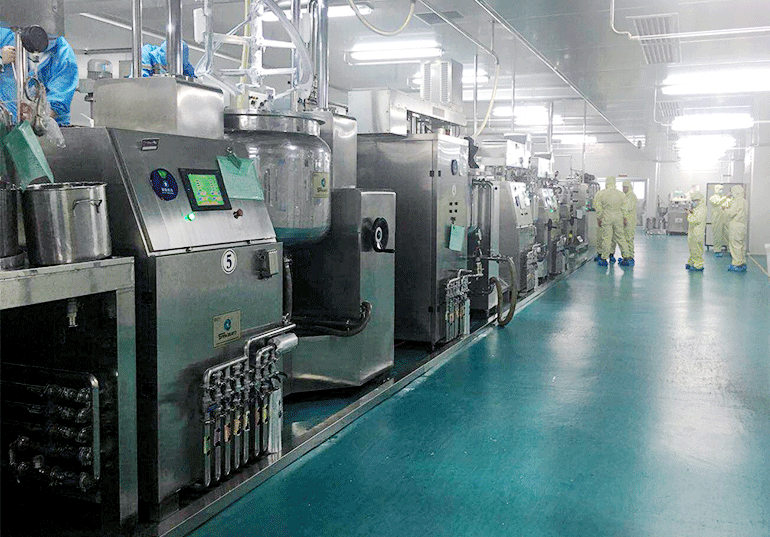 Lotion Production Line Solution